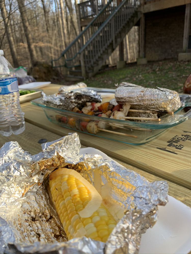 Dinner at Bear Creek Lake State Park