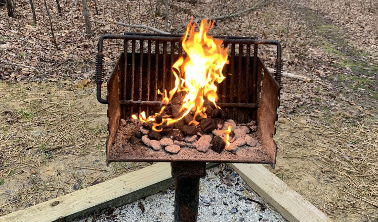 Soul Soothing Grill at Bear Creek Lake State Park